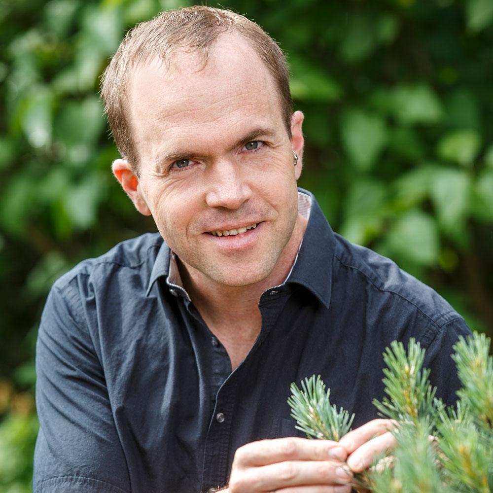Christian Barwig-Zowack ist Experte für Gartengestaltung.
